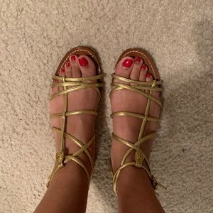 Authentic Tory Burch Brooke sandals size 7.5